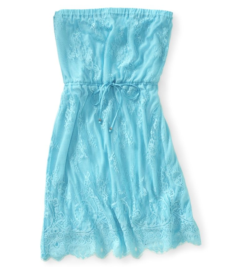 lace tube dress from Aeropostale
