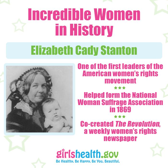 elizabeth cady stanton advocate for womens rights Stanton was the leading voice and philosopher of the women's rights and suffrage movements while anthony was the powerhouse who commandeered the legions of women who struggled to win the ballot.