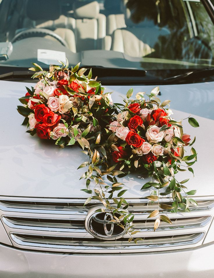 Flowers for the wedding car! A Romantic and Ethereal Singapore Wedding at The Joyden Hall: Samuel and Brenda