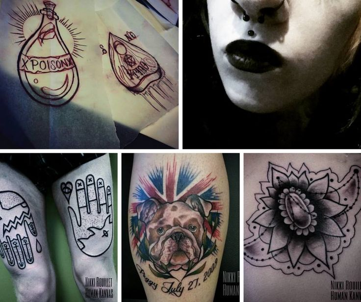 Nikki Rouillet Tattoos in our Calgary location with some of her recent tattoos. 587.880.2936 #YYC #YYCTattoo #YYCArt