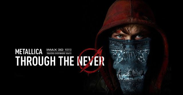 "metallica through the never | ... Nuevo poster y trailer de la película ""Metallica Through The Never"