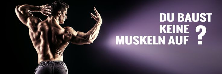 5 Gründe, warum andere #Muskeln aufbauen und Du nicht