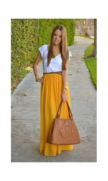 Faldas largas 2012