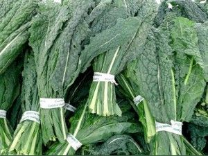 Dark leafy greens such as kale, chard and collards have many super food advantages. Greens are high in iron, calcium, magnesium, potassium, phosphorous, zinc and vitamins A, C, E and K.  They are chock full of fiber, folic acid, chlorophyll and several other micronutrients and phyto-chemicals that help fight free radicals.