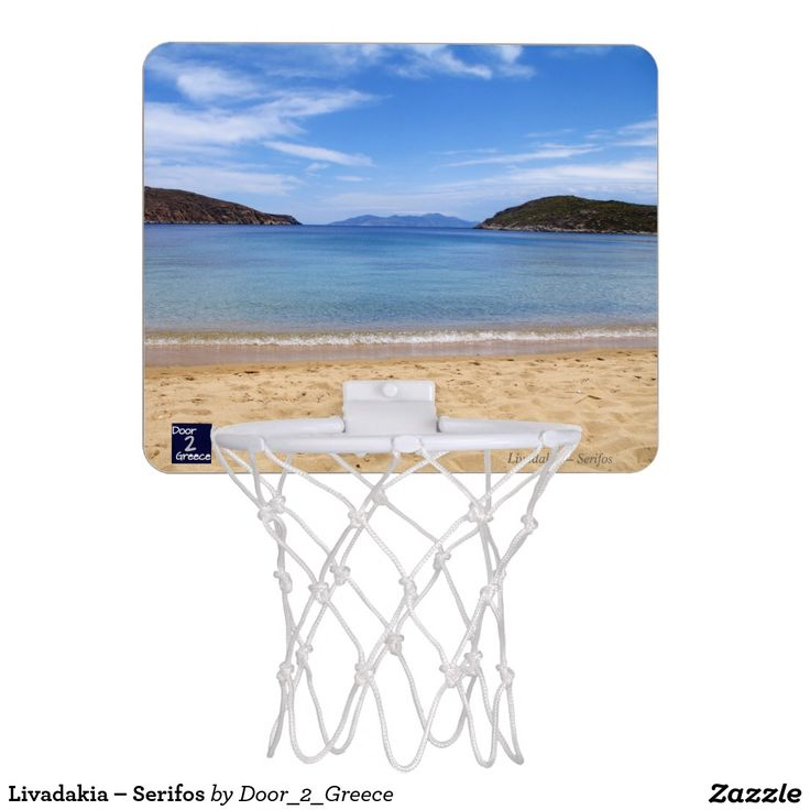 Livadakia – Serifos Mini Basketball Hoop
