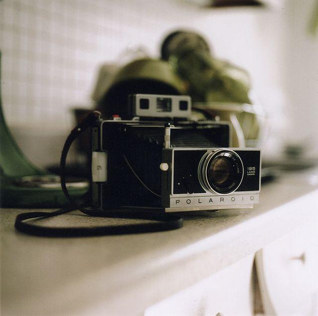 .: Photos, Vintage Camera, Polaroid Camera, Polaroid 195, Photo Shared,  Polaroid Land Camera, Forgotten Things, Camera Lust, Camera Porn