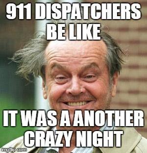 Beat up patch 911 dispatcher