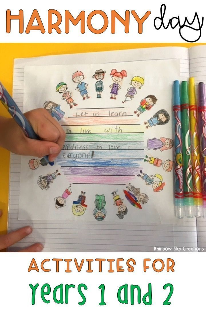 Teach students the importance of Harmony Day in Australia with these fun & informative printables / teaching ideas. Activities include an 'Everyone Belongs' poster to display, poem template, writing tasks & numeracy activities teaching students about cultural diversity. Worksheets are suitable for Year 1 - Year 2. Harmony Day coincides with International Day for the Elimination of Racial Discrimination. {Year one, Year two, homeschool}