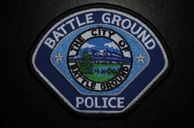 Battle Ground Police Patch, Clark County, Washington