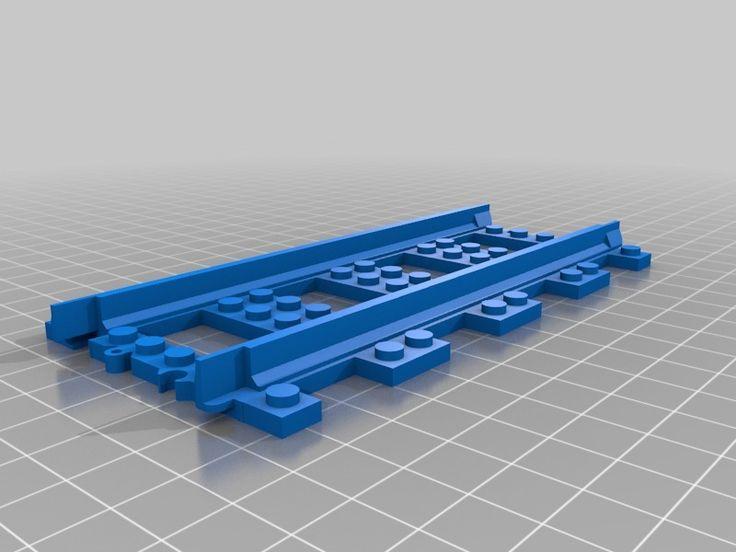 Lego+train+tracks+by+rOzzy.
