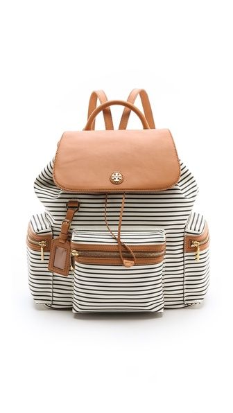 viva backpack / tory burch