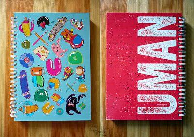 design by #dushky | #design #illustration #sketchbook #notebook #cover #uman #umanshop #urban #skate #color