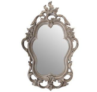 Espejo Barroco Ovalado gris