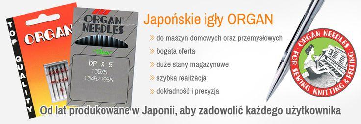 Igły do maszyn szwalniczych i podszywarek w Gdyni: HillOb