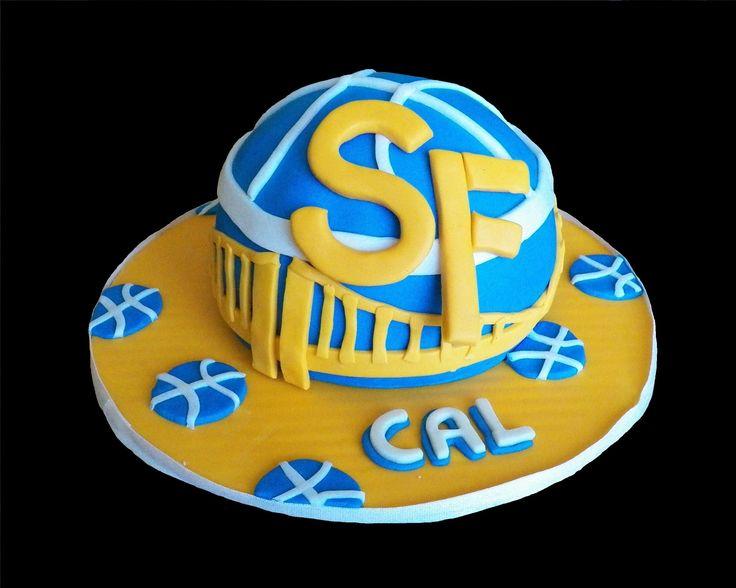 SF Warriors cake - rita dippenaar