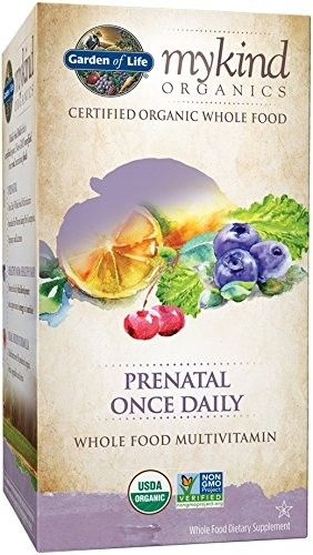 Garden of Life Kind Organics Prenatal Once Daily Multi 30 Tabs