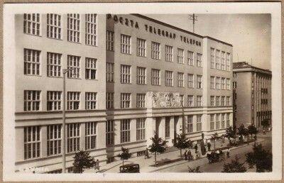 Budynek Poczty Polskiej po rozbudowie w1937 Fot. L. Durczykiewicz
