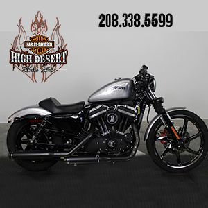2015 Harley-Davidson® XL883N - Sportster® Iron 883.  This blacked-out bruiser is amazing! Raw, aggressive throwback. Here's the best part...it was used in the 2015 Harley-Davidson Parts Catalog (pg.63 ).  It has lots of add-on parts from H-D. If your looking for that one-off 883, you just found it!