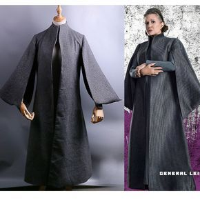 2017 Star Wars The Last Jedi Leia Cosplay Costume Full Set Princess Leia Dress #Handmade #CompleteOutfit #CosplayParty