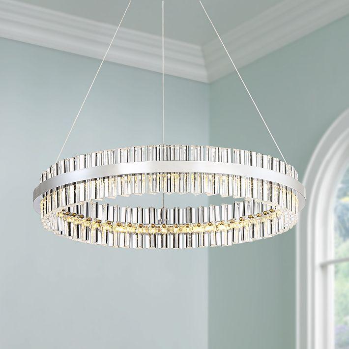 Crystal Led Pendant Light