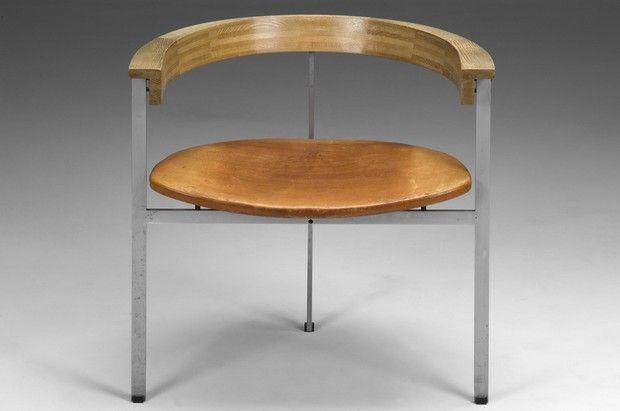Poul Kjaerholm Chair PK 11 for E Kold Christensen 1957