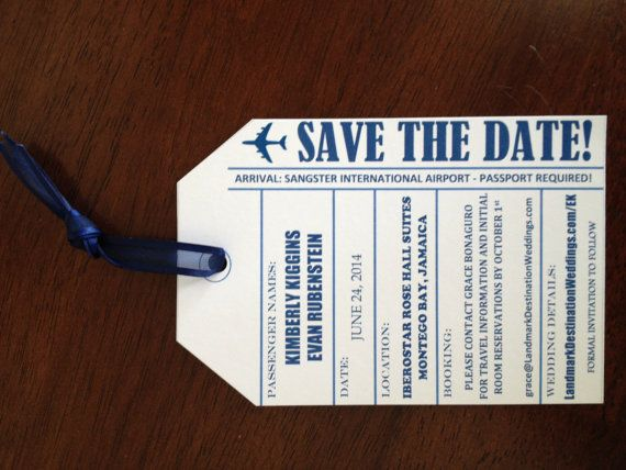 30 best images about Save The Date Cards on Pinterest | Luggage ...