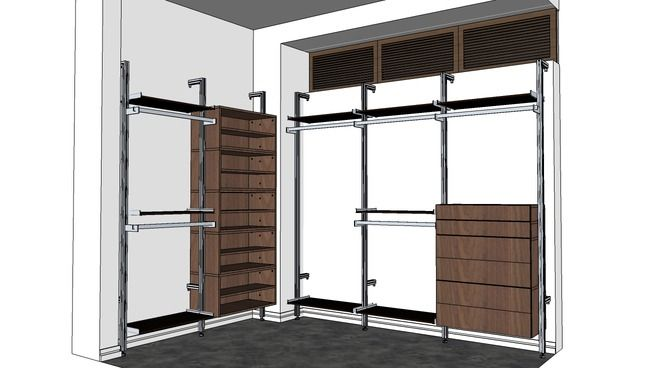 Large preview of 3D Model of Gorgeous Organization Starring the CLT Series