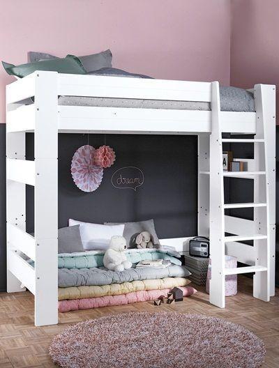 les 25 meilleures id es concernant lits superpos s blancs. Black Bedroom Furniture Sets. Home Design Ideas