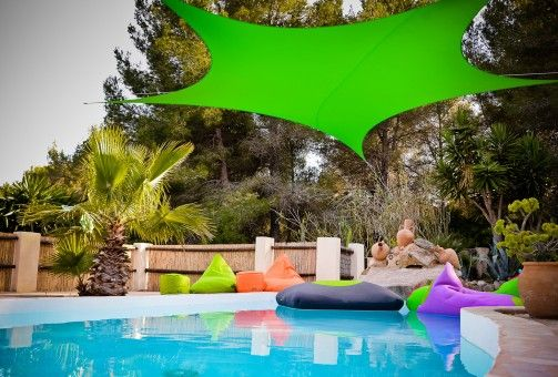 X-SUN SAIL DECOR di XPOUF  #summer #design #sail #xpouf