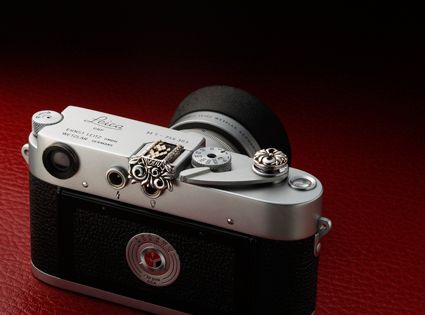 JAY TSUJIMURA Leica Jewelry collection  Mr. M Python Hot Shoe Cover & Premium Floral Soft Release for Leica M3. Please feel free to ask me any questions for my products :o)  www.facebook.com/JAYTSUJIMURATOKYO www.shopjay.com  www.jaytsujimura.com