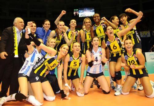 Fenerbahçe Bayan Voleybol Takımı (CEV Kupası şampiyonu)