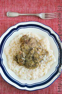 Mandy kertje és konyhája: Fehérboros csirkemáj