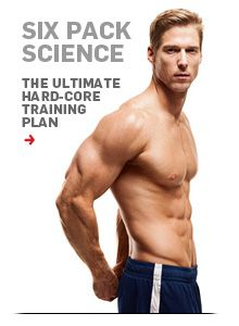 Six-pack Science: Your ultimate guide to getting abs, from the experts at Men's Health.