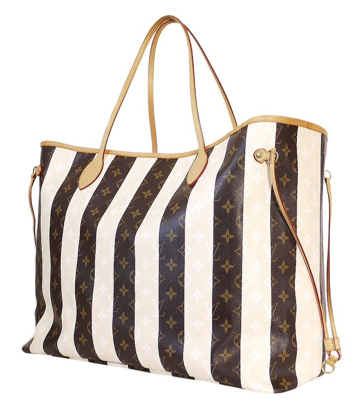 Louis Vuitton Monogram Neverfull Rayures XL Limited Edition Rare