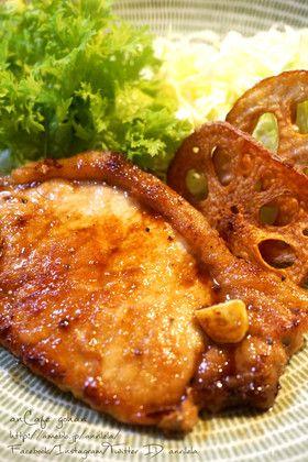 絶品!レストランの豚ロースポークソテー♡