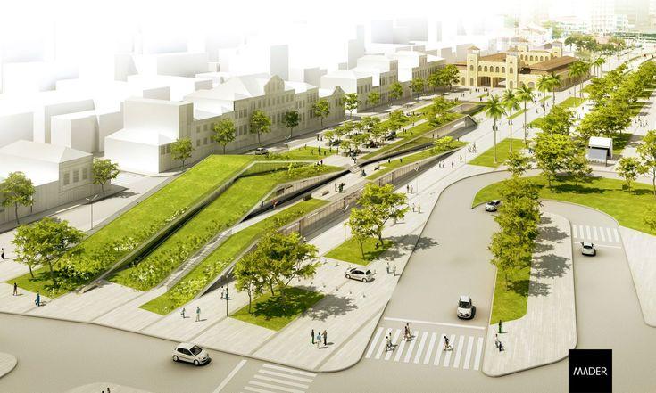 Mader arquitetos associados arquiteto porto alegre rs for Linear architecture design