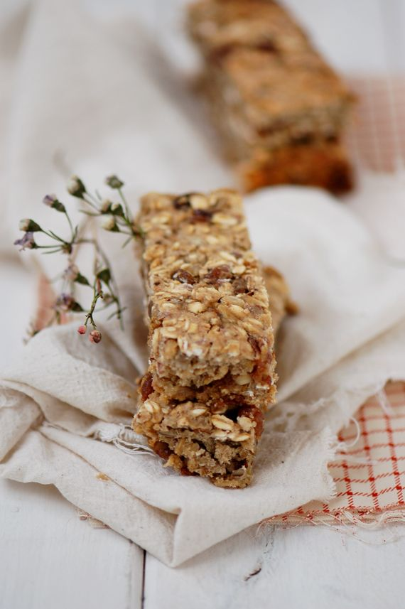 Madame Gateau: Barres de céréales aux raisins et bananes & quelques nouveautés sur le blog