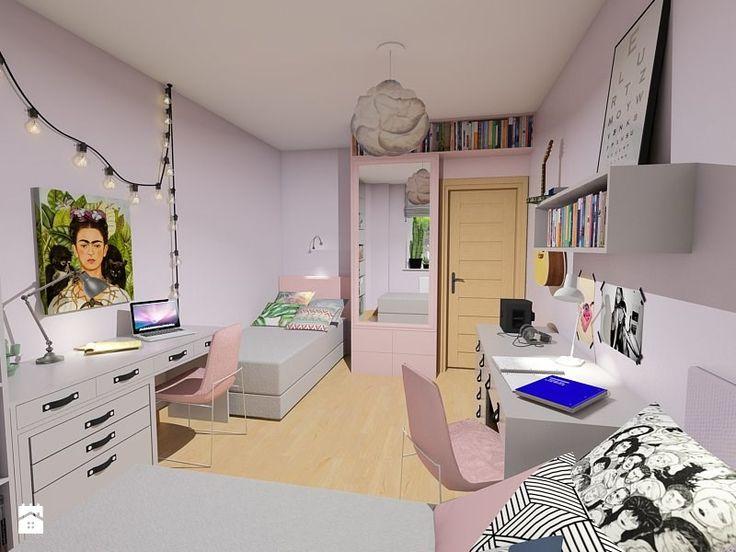 Pokój nastolatek - zdjęcie od Maszroom: Karolina Pogorzelska - Pokój dziecka - Styl Nowoczesny - Maszroom: Karolina Pogorzelska