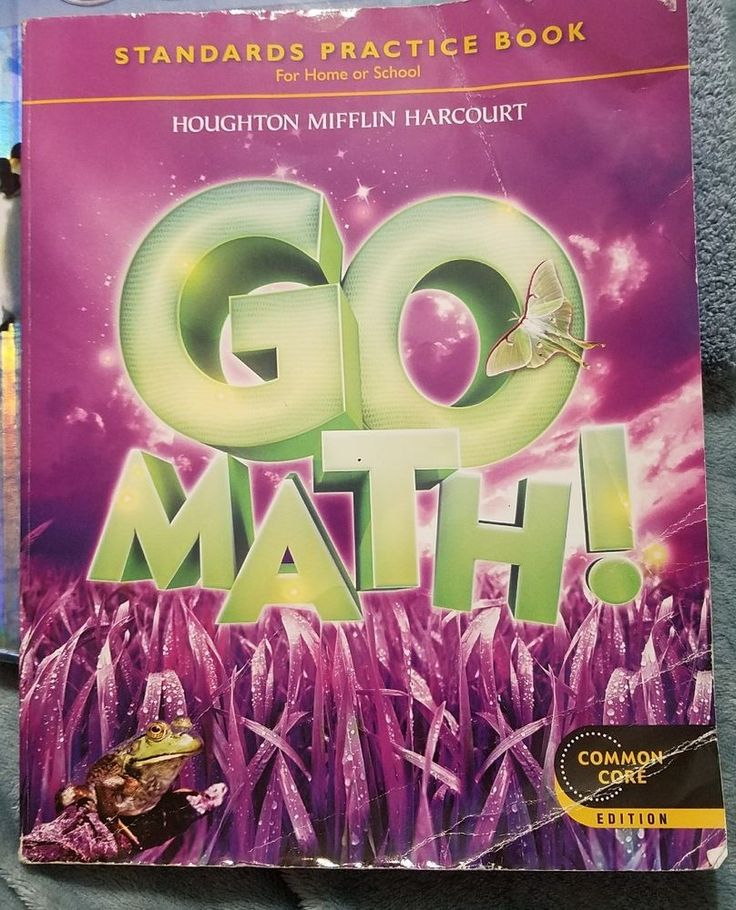 Houghton Mifflin Harcourt Go Math Standards Practice Book Common Core Grade 3 | Books, Textbooks, Education | eBay!