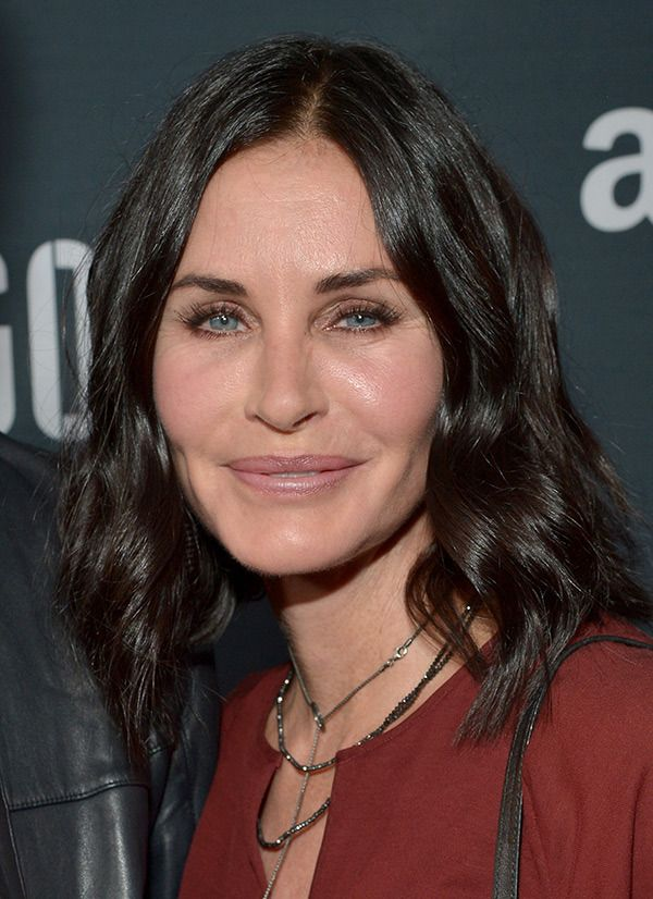 Too much plastic surgery for Courtney Cox !