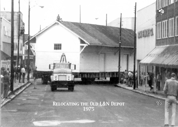Moving The Depot 1975 The Building On The Street Corner