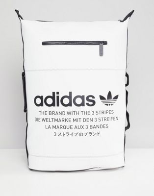 6dabf1ad50 adidas Originals NMD Backpack In White DH3098