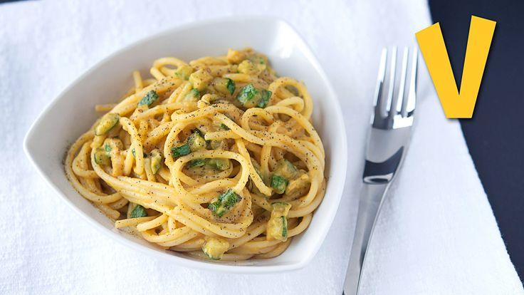 Spaghetti alla carbonara - Recipe by The Vegan Corner