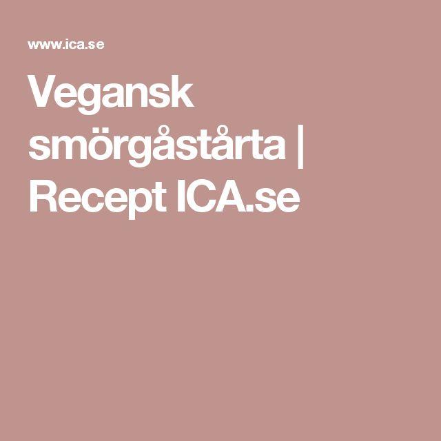 Vegansk smörgåstårta | Recept ICA.se