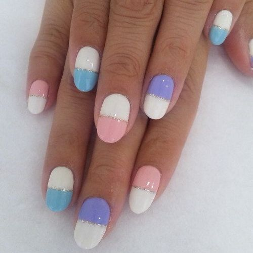 199 best easy nail art designs images on pinterest make up easy nail art and pretty nails - Easy cute nail designs at home ...