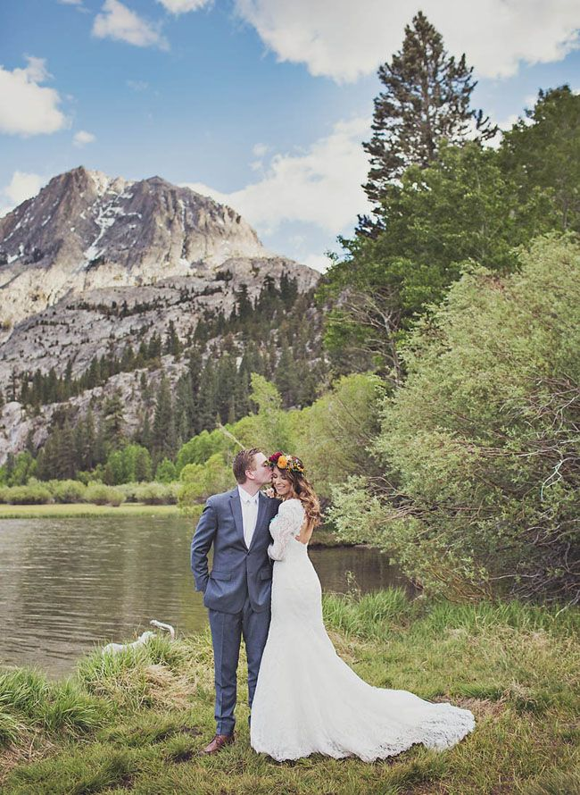 Rustic Bohemian Mountain Wedding: Chelsea + Chris | Green Wedding Shoes Wedding Blog | Wedding Trends for Stylish + Creative Brides