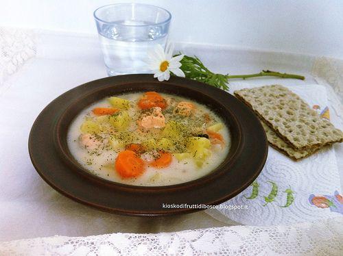 Zuppa di salmone finlandese
