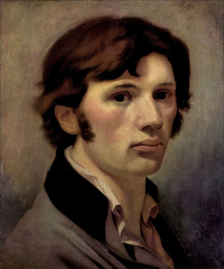 Philipp Otto Runge · Autoritratto · 1805 ca · Kunsthalle · Hamburg