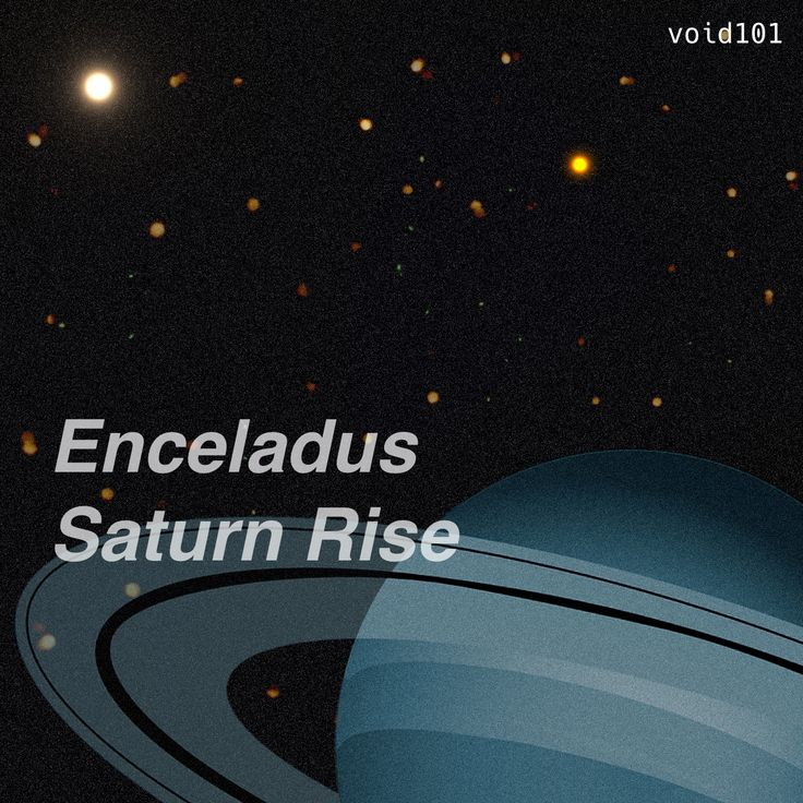 Enceladus Saturn Rise – A relaxing ambient Track.