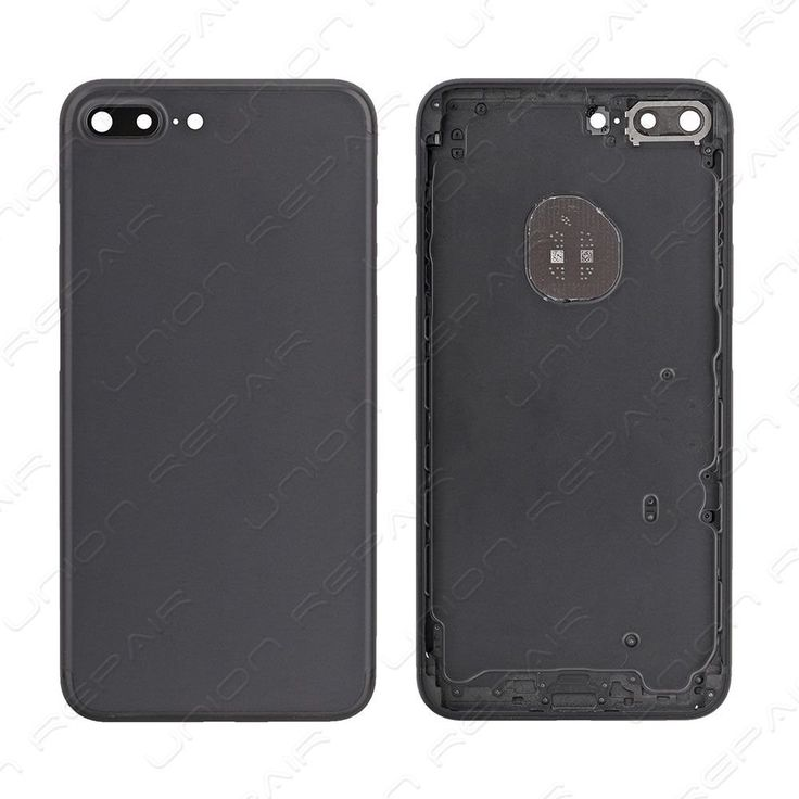 Replacement for iPhone 7 Plus Back Cover - Black    Compatible With: Apple iPhone 7 Plus    Specification:  Color: Black  Material: Aluminum  Compatibility: For iPhone 7 Plus    Features:      &a...